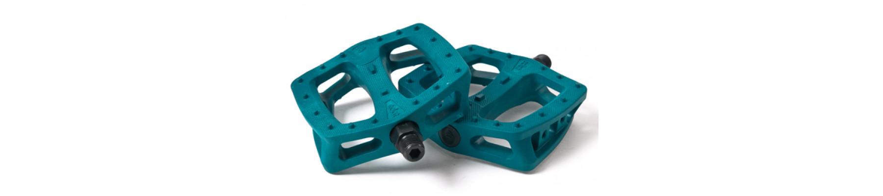 Eclat Plaza Plastic pedals Midnight teal