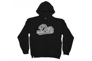 DVS League Zip Hoodie Black
