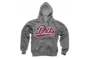 DVS League Zip Hoodie Grey