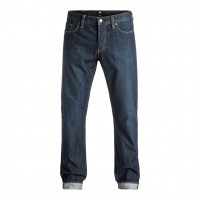 DC Worker Straight Stone Wash Straight Fit