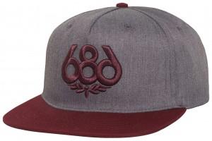 686 OG Icon Heather Grey
