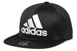 Adidas Flat Fitted Black