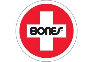 Bones Bearings Swiss Round Sticker LRG