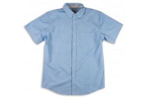 Matix Woven Clutch Blue