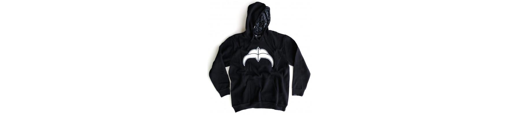 Razors Logo Hoodie Blk
