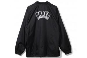 BAKER Arch Dubs BLK Coach Jacket