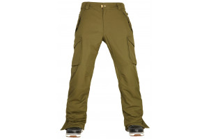 686 Authentic Infinity Insulated Cargopant Olive 10K/10K/-12'C