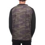 686 Crewneck Bonded Fleece Sweatshirt Faticue Camo DRW/-7'C