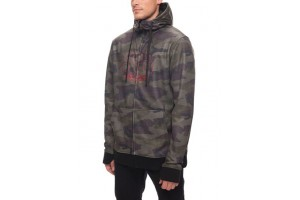 686 Icon Zip Bonded Fleece Hoody Faticue camo DRW/-7'C