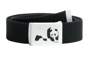 Enjoi Panda Web Belt Black
