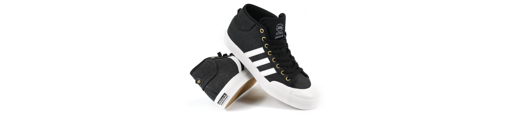 Adidas Matchcourt Mid Black Canvas
