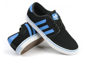 Adidas Seeley BlackSolBlue