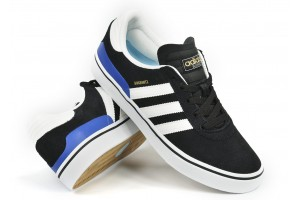 Adidas Skateboarding  Busenitz vulc BlackWhtBl Suede