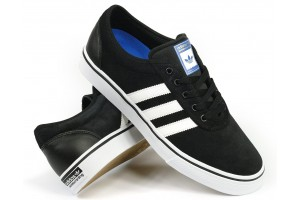 Adidas Skateboarding Adi Ease ADV Black Suede