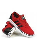 Adidas Skateboarding Adi Ease J Red Canvas
