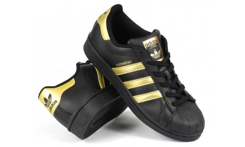 Adidas Superstar BlackGold