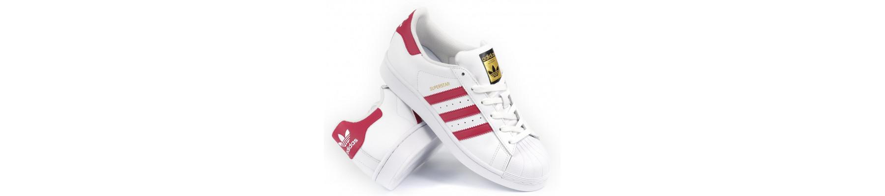 Adidas Superstar WhitePink