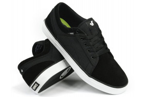 DVS Aversa Black Suede Canvas
