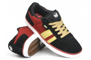 DVS Milan CT Kids BlackRed Suede