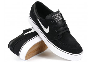 Nike SB Stefan Janoski Kids BlackWhite Suede