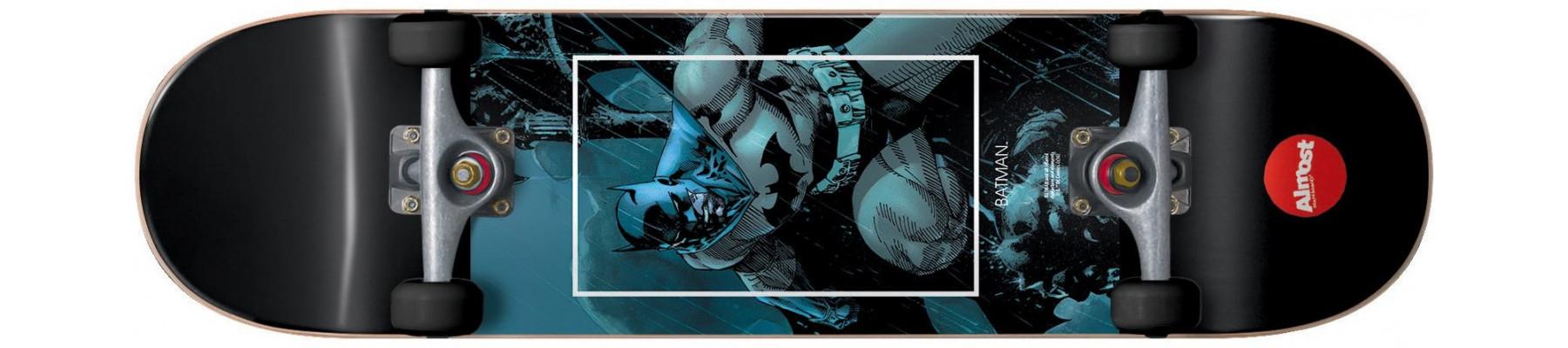 Almost Premium Blue Batman Fight Club Soft wheels 8.25
