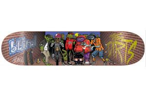 Blind D.I.R.T.S Crew Brick Red