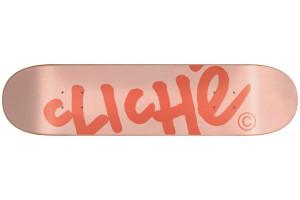 Cliche Handwritten Light PinkPeach