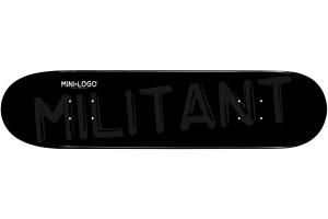 MiniLogo Militant Black