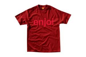 Enjoi Helvetica Scarlet