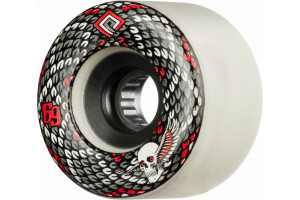 Powell Peralta Snakes Soft Slide 75a White