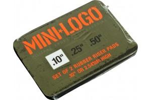 MiniLogo Riser single 0.1 Rubber pad