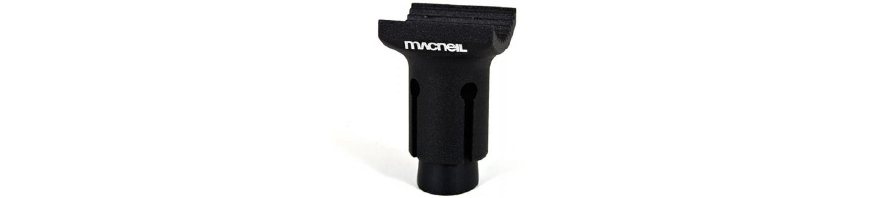 MacNeil Nub seat post Matte black 25.4mm