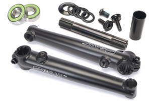 Salt Rookie Mid BB cranks 175mm Black