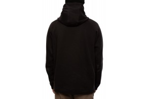 686 Hybrid Fleece Hoody black