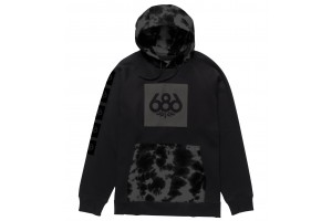 686 Multi Logo Pullover Black Trippy