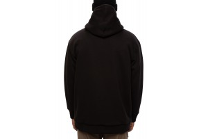 686 Sherpa Lined Hooded Sweatshirt black