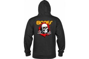 Bones Ripper Hooded Charcoal Heather