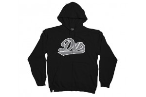 DVS League Zip Hoodie Black