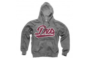DVS League Zip Hoodie Grey
