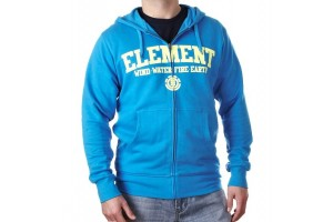 Element Slate Zip Hoody Acid Blue
