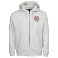 Independent Two Tone Zip Hood Athletic Heather