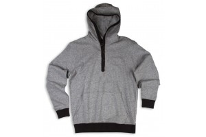 Matix Fleece Leisure Hoody Charcoal
