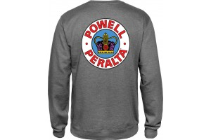 Powell Peralta Supreme Sweatshirt Gunmetal