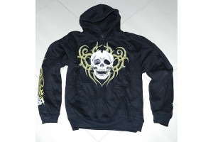 Skull Black Yellow