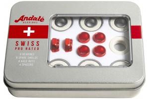 Andale swiss tin box