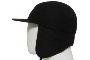 686 5Panel Earflap Black