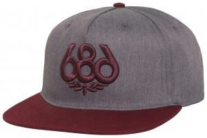 686 OG Icon Heather Grey