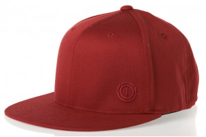 Element Flat Cap Burgundy