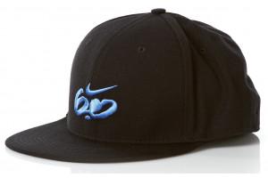 Nike 6.0 Logo FullCap Blk Varsity Blue