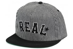 Real On Deck BlackPinstripes